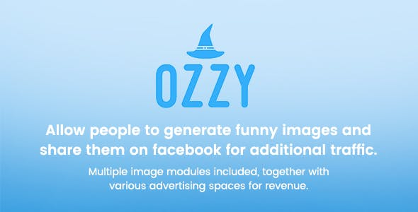 Ozzy - Generate and share funny images