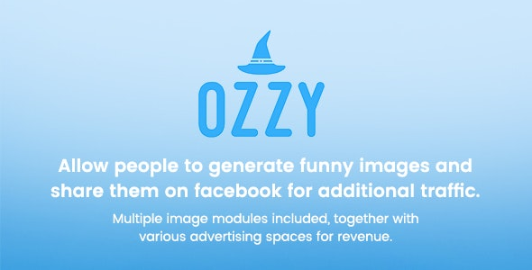 Ozzy - Generate and share funny images - CodeCanyon Item for Sale