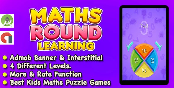 Best Maths Learning Game For Kids And Adult + Ready For Publish + Android