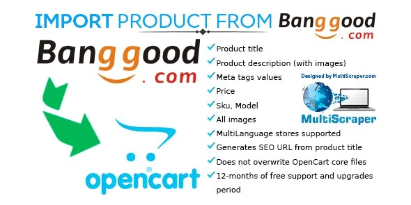 Import product from Banggood - CodeCanyon Item for Sale