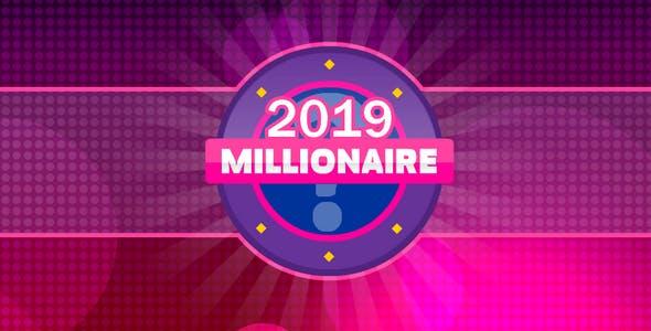 Millionaire 2019 - tv quiz, 300 random questions