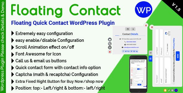 Floating Button Plugins, Code & Scripts from CodeCanyon
