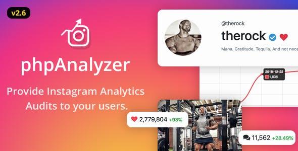 phpAnalyzer - Instagram Analytics / Audit / Statistics Tool - CodeCanyon Item for Sale