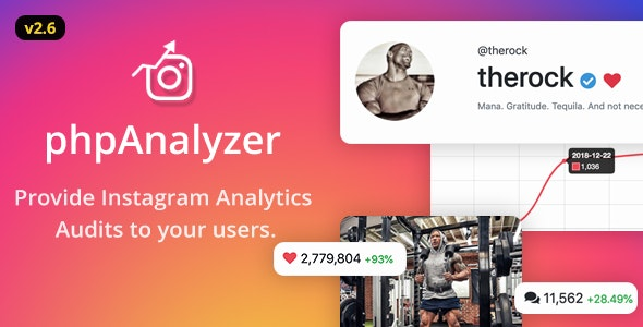 phpAnalyzer - Instagram Analytics / Audit / Statistics Tool