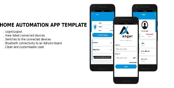 Simple Home Automation Android Source Code - CodeCanyon Item for Sale