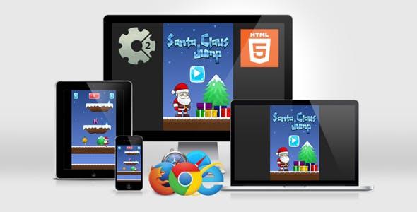 Santa Claus Jump - HTML5 Infinite Jump Game - CAPX