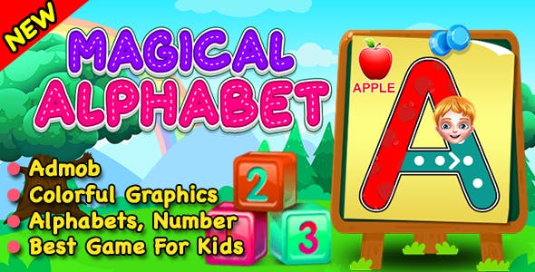 Magical Alphabets + Best Kids Pre School Learning Game + IOS