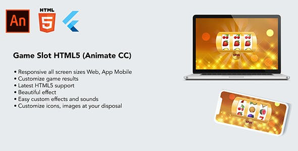 Game Slot HTML5 (Animate cc)