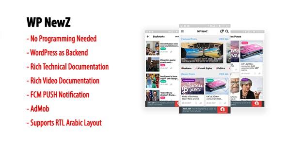 WP NewZ   WordPress to Android News App