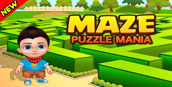 Maze Puzzle Mania + Game For Kids + IOS