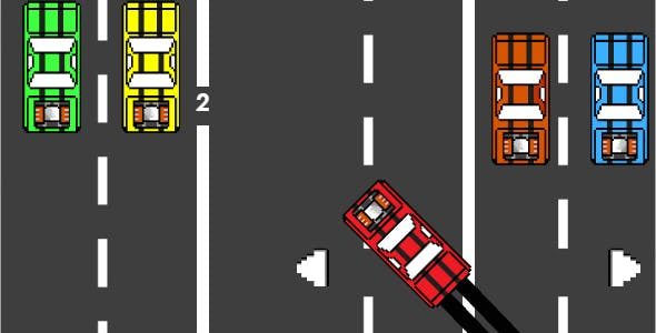 Crazy Driving - Html5 Mobile Game - android & ios