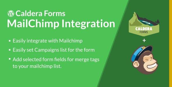 Caldera Forms MailChimp Integration - CodeCanyon Item for Sale
