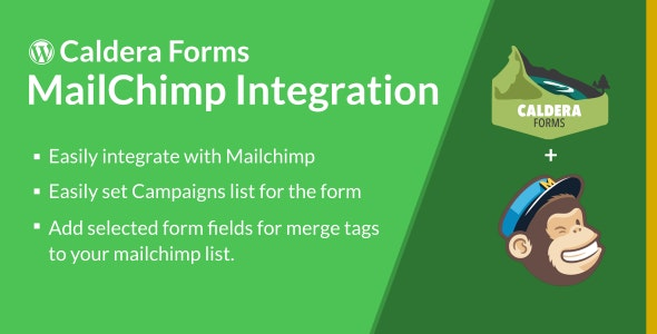 Caldera Forms MailChimp Integration - CodeCanyon Item for Sale