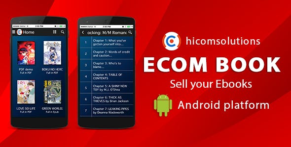 Ecom-Book: sell your online ebooks - Android        Nulled