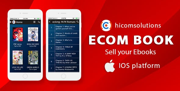 Ecom-Book: sell your online ebooks - iOS        Nulled