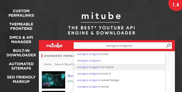 MiTube - The YouTube Autopilot Engine You Deserve! - CodeCanyon Item for Sale