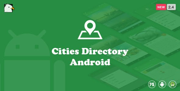 CitiesDirectory  (Directory Android App Based On Cities With Material Design) 2.4