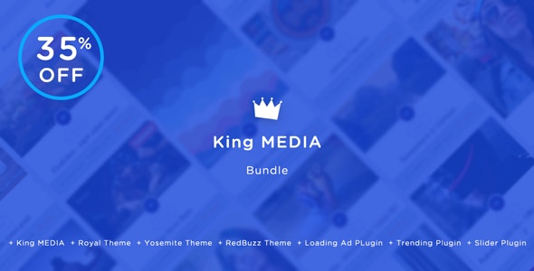 King MEDIA Bundle - Viral Magazine Script - CodeCanyon Item for Sale