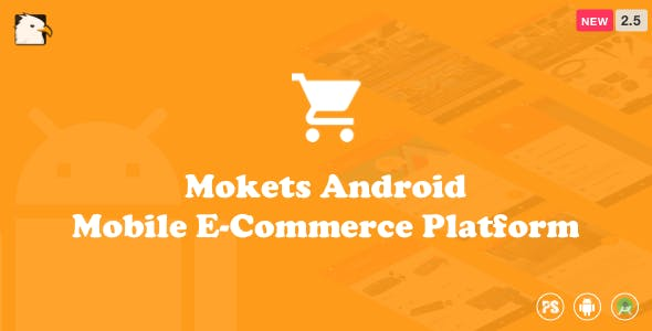 Mokets (Mobile Commerce Android Full Application With Material Design) V2.5