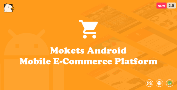 Mokets (Mobile Commerce Android Full Application With
