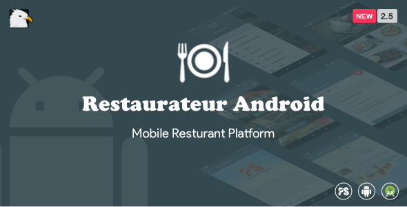 Restaurateur Android (Full Application For Restaurant