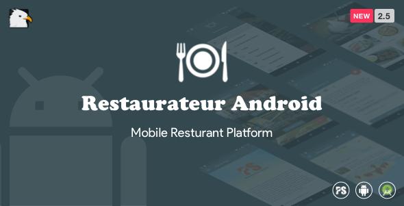 Restaurateur Android (Full Application For Restaurant