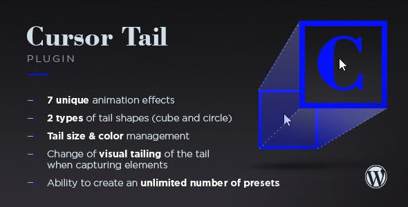 Cursor Tail for WordPress - CodeCanyon Item for Sale