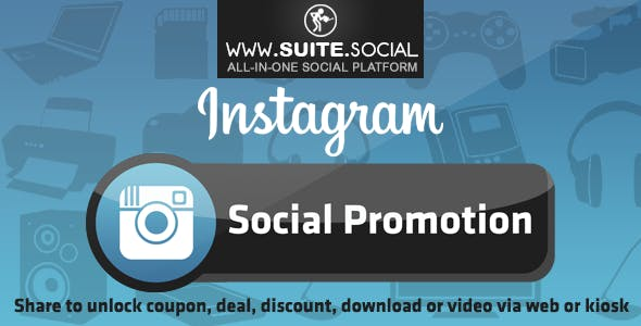 Instagram Promotion: Sharer, Viral and Marketing Social Script