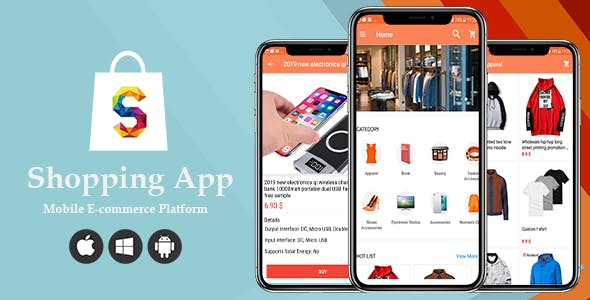 Shopping - Ecommerce Shop Online Android        Nulled