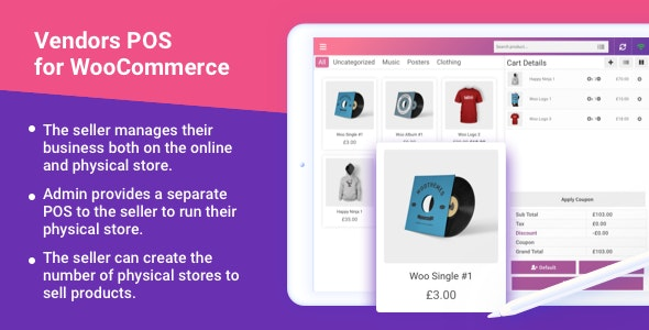 Multi-Vendor Point of Sale System for WooCommerce - CodeCanyon Item for Sale
