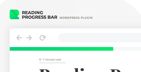ReBar – Reading Progress Bar for WordPress Website by