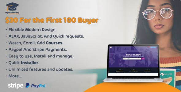 Digital University - Learning Management System - CodeCanyon Item for Sale