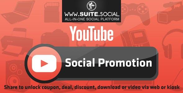 YouTube Promotion: Sharer, Viral and Marketing Social Script