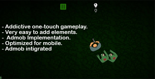 Unity Game Template - Zombiez Around - CodeCanyon Item for Sale