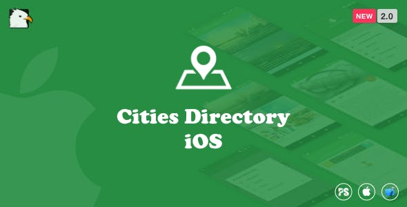 CitiesDirectory(iOS Swift) 2.0