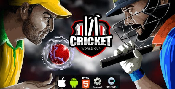 Cricket World Cup - HTML5 Game (Construct 2)(Construct 3) - CodeCanyon Item for Sale