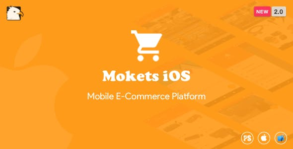 Mokets (Mobile Commerce iOS Full Application) 2.0