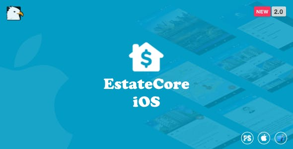 EstateCore ( Real Estate Finder : Home Finder : Housing Agency iOS Application with Swift) 2.0
