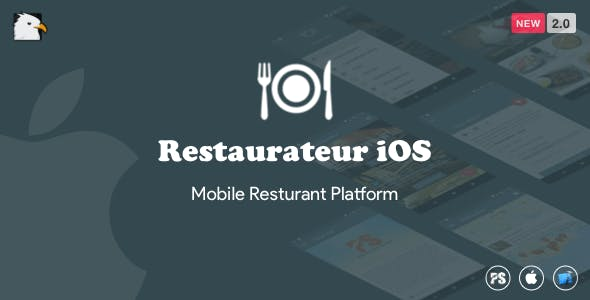 Restaurateur iOS (Full Application For Restaurant Platform) 2.0
