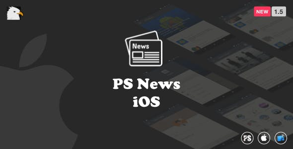 News App (Multipurpose iOS News Application) 1.5