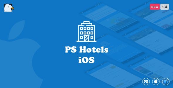 PSHotels iOS (Ultimate Hotels Finder Application With Backend) 1.4