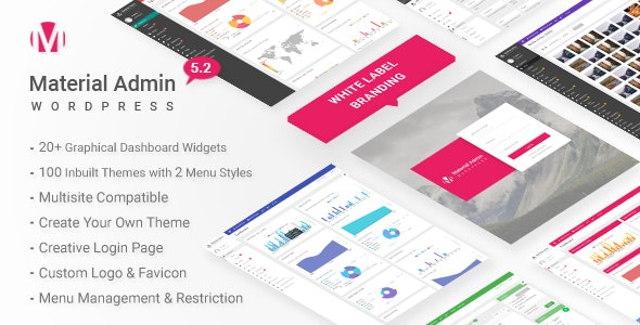 Material - White Label WordPress Admin Theme by themepassion