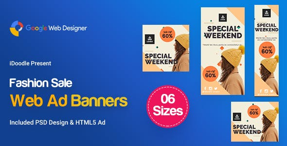 C65 - Fashion Sale Banners GWD & PSD