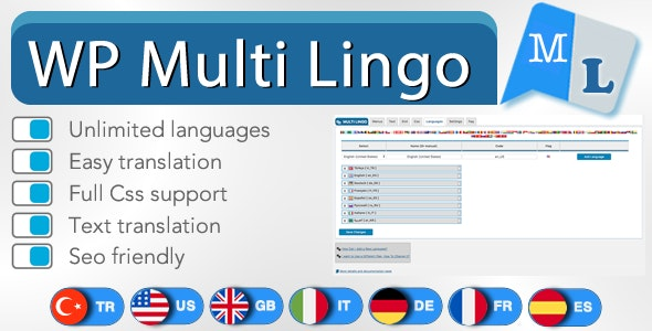 Wordpress Multiple Languages Plugin by Ozibal