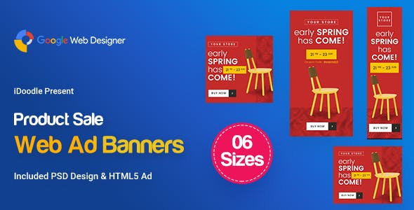 C66 - Product Sale Banners GWD & PSD