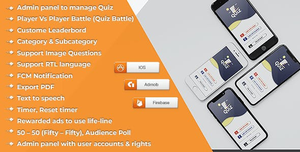 Quiz Online (IOS) - CodeCanyon Item for Sale