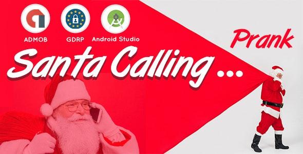Santa Calling Prank I Android Studio - CodeCanyon Item for Sale