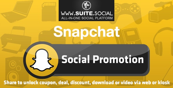 Snapchat Promotion: Sharer, Viral and Marketing Social Script - CodeCanyon Item for Sale