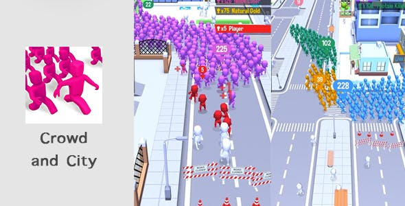 Crowd and City - Unity Game