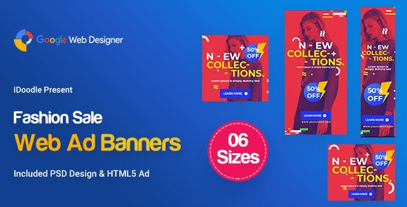 C67 - Fashion Sale Banners GWD & PSD
